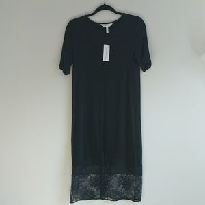 Flirty black BCBGeneration tunic dress